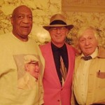 Bill Cosby and Ramblin' Jack Elliot, Newport, RI